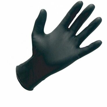 Guante nitrilo negro 100 unidades